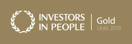 Investors in People Gold until 2019
