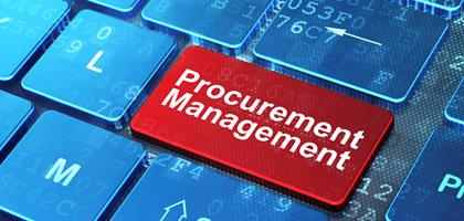 Procurement on keyboard